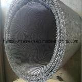 Engranzamento de fio do aço inoxidável do Weave de Twilled em Rolls