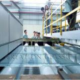 vidrio de flotador gris oscuro de 3mm-12m m para la cocina
