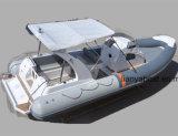 Liya 27ft bateau de vitesse de bateau de côte de cabine de 20 personnes