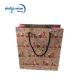 Vente en gros de achat de sac de papier de taille de différence de marque de Papier d'emballage de Noël