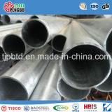 Pipes ovales dégrossies plates soudées Titane-Plaquées d'acier inoxydable