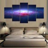 Beelden van de Planeten van de Kunst van de Schilderijen van het canvas de Abstracte Denkbeeldige Kosmische van de Muren van Woonkamers Decoracion