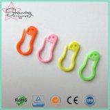 Spilla di sicurezza variopinta di plastica della pera dell'accessorio 22mm dell'indumento