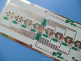 Carte BGA RO4350b de 12 couches carte à circuit de 4 mils (0.1mm)