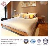 Mobília do quarto do hotel de Classicial com base de madeira (YB-WS-79)