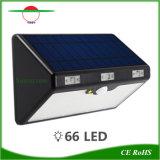 En la pared de las luces Solares Inicio invertir el LED del sistema de luz exterior