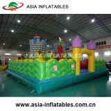 膨脹可能な子供の警備員のコンボか膨脹可能な跳躍の城