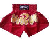 Shorts acrilici di inscatolamento di lotta del ricamo MMA dell'OEM