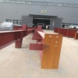 Viga de acero fabricada soldada de H para la estructura de acero