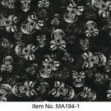Numéro hydrographique Ma194-1 de film de crâne noir