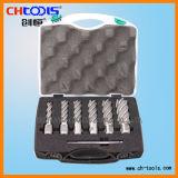 Coupeur de trou d'acier à coupe rapide avec la partie lisse universelle (DNHC)