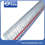 Plastik-Belüftung-Stahldrahtfeder-Wasser-Rohr-landwirtschaftlicher Bewässerung-Schlauch