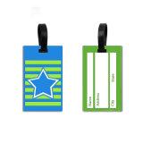 Bagages personnalisés Tag Maker bon marché en vrac en plastique dur d'avion voyage Bagage Luggage Tag