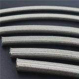 Tubo flessibile di Teflon di AISI PTFE con l'intrecciatura dell'acciaio inossidabile