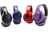 Cuffia avricolare di Bluetooth con le cuffie senza fili della cuffia avricolare FM di Bluetooth della scheda di TF e collegate radiofoniche
