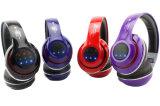 TF 카드 Bluetooth 헤드폰 FM 라디오 무선의와 타전된 헤드폰을%s 가진 Bluetooth 헤드폰