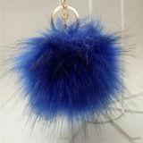 Fascino falso simile a pelliccia accessorio del sacchetto della pelliccia di Fox di Keychain dei capelli all'ingrosso