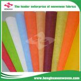 Tessuto non tessuto variopinto della tessile possibile di prezzi 100% pp Spunbond