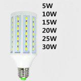 luz energy-saving do milho do diodo emissor de luz do bulbo de 5W 7W