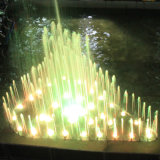 다채로운 음악 옥외 분수를 무용하는 Fenlin 원형