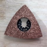 Carbide Grit Triangular Rasp Multi Tool Blade for Starlock Machine