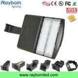 La célula fotoeléctrica 100W LED montado en el poste de luz caja de zapatos para el área al aire libre