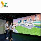 Outdoor/Visor LED de aluguer no interior da parede de vídeo para a fase/Publicidade