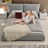 أثاث لازم [إك-فريندلي] بينيّة حديثة ينجّد سرير ليّنة لأنّ غرفة نوم ([غ7001])