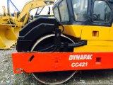 Usada Dynapac cc421 Tambor duplo rolo de Estrada Bom Estado