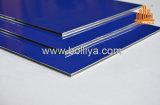 Materiale nero bianco lucido del contrassegno di Acm di colore di lucentezza per stampa di Digitahi