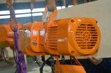 2 tonnes palan électrique à chaîne d'embrayage patine avec chariot motorisé
