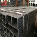 Sección cuadrada rectangular soldada galvanizada sumergida caliente de la depresión del tubo del tubo de acero del lado derecho S235jr de Shs