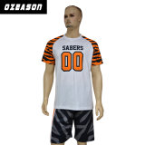 あなた自身の100%年のポリエステル通気性のスポーツのサッカーのワイシャツをカスタマイズした(S029)