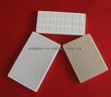 Placa cerâmica do favo de mel refratário para o calefator de gás