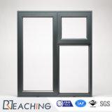 알루미늄 Horizantal 슬라이딩 윈도우 디자인 이중 유리를 끼우는 알루미늄 Windows
