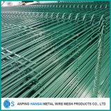 L'alberino superiore 3D della pesca ha curvato la rete fissa saldata della rete metallica