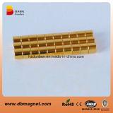 N35 de Gouden Magneten van het Neodymium van de Schijf van het Plateren
