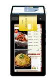 두 배 스크린 Poynt POS 영수증 열 인쇄 기계 NFC RFID 독자와 가진 지능적인 지불 단말기