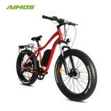 1000Wモーターを搭載するタイヤのEbikeの脂肪質の雪の電気バイク