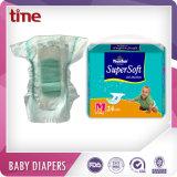 jusqu'à 12 heures de couche-culotte choyante sèche superbe de couche-culotte de bébé de protection pour le bébé