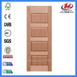Porte en bois de placage de bâti de cadre de porte de teck de teck en bois de Hyderabad