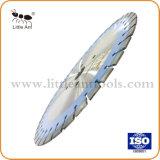 다이아몬드 안내장은 Asphal 콘크리트를 위한 톱날 절단 디스크 기계설비 공구를