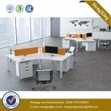 Meubles de bureau de cerise L compartiment de bureau de poste de travail de forme (HX-NJ5025)