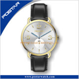 Reloj simple unisex modificado para requisitos particulares del acero inoxidable de la combinación de color 316L