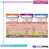 Le distributeur voulait Hifu ciblée à ultrasons à haute intensité de la peau beauté de la machine de serrage