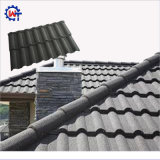 Mattonelle di tetto rivestite di pietra del metallo di Milano di alta qualità di apparenza attraente