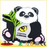 Super Cute Panda ПВХ цепочке для ключей