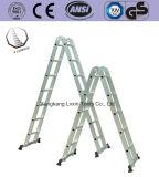 De multifunctionele Ladder van het Aluminium met Dubbele Kant