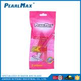 Cor-de-rosa Lâminas de dupla lâmina de barbear para Mulheres de cor-de-rosa