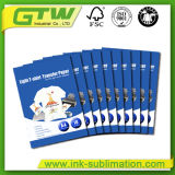 Tamanho A3 140GSM T-shirt luz Papel de transferência para a impressão de têxteis de algodão 100%